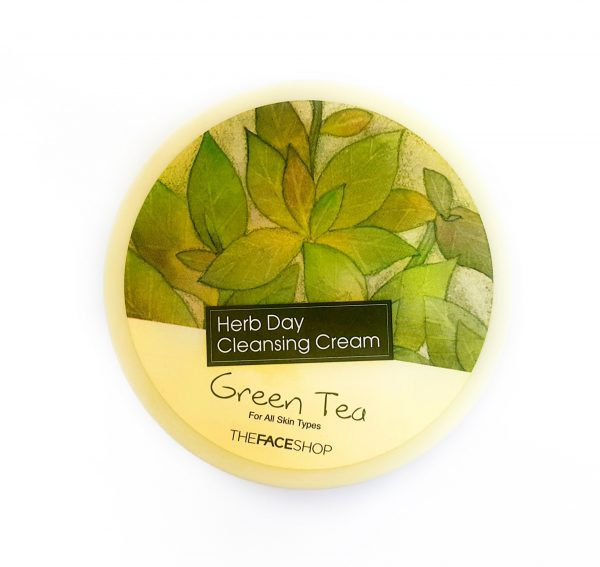 Herb Day Cleansing Cream Green Tea