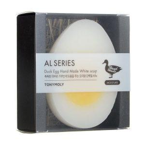 Duck Egg Handmade White Soap