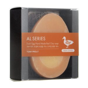 Duck Egg Hand Made Soap Red Clay