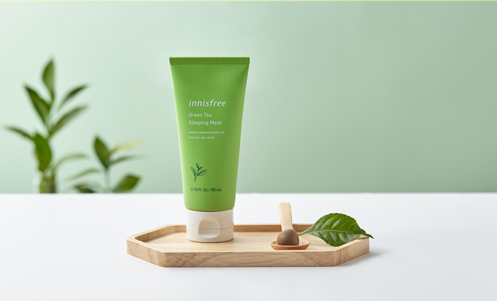 INNISFREE Green Tea Sleeping Mask - Shine Skin Bangladesh - The largest  Mall for Korean Cosmetics In Bangladesh